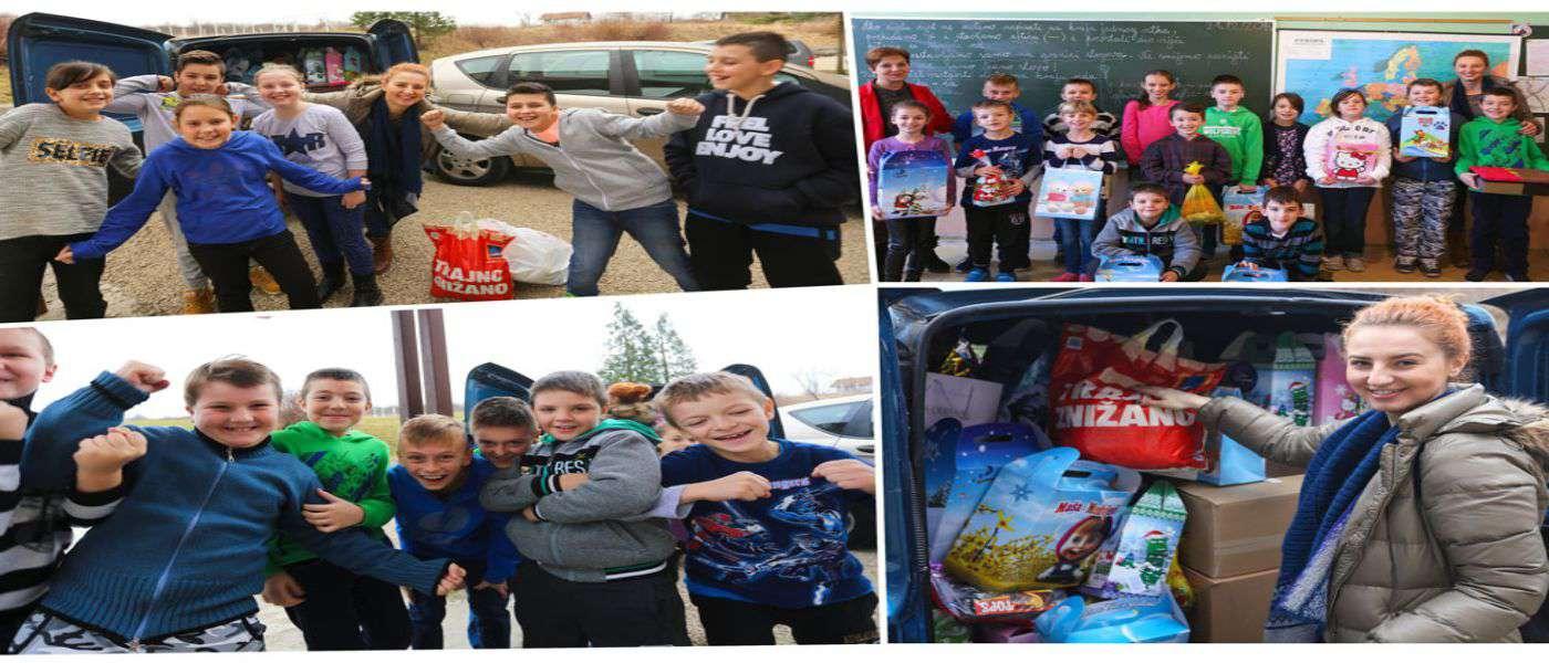 Osnovci iz OŠ Kamenica: Mali junaci novogodišnjih praznika