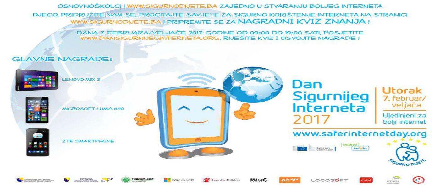 DANAS: Dan sigurnijeg interneta 2017. -TAKMIČENJE
