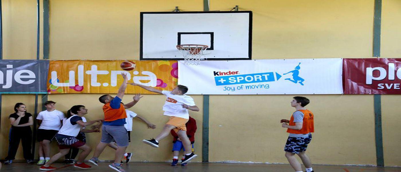 Sportske igre mladih: Kinder+Sport CUP u uličnoj košarci